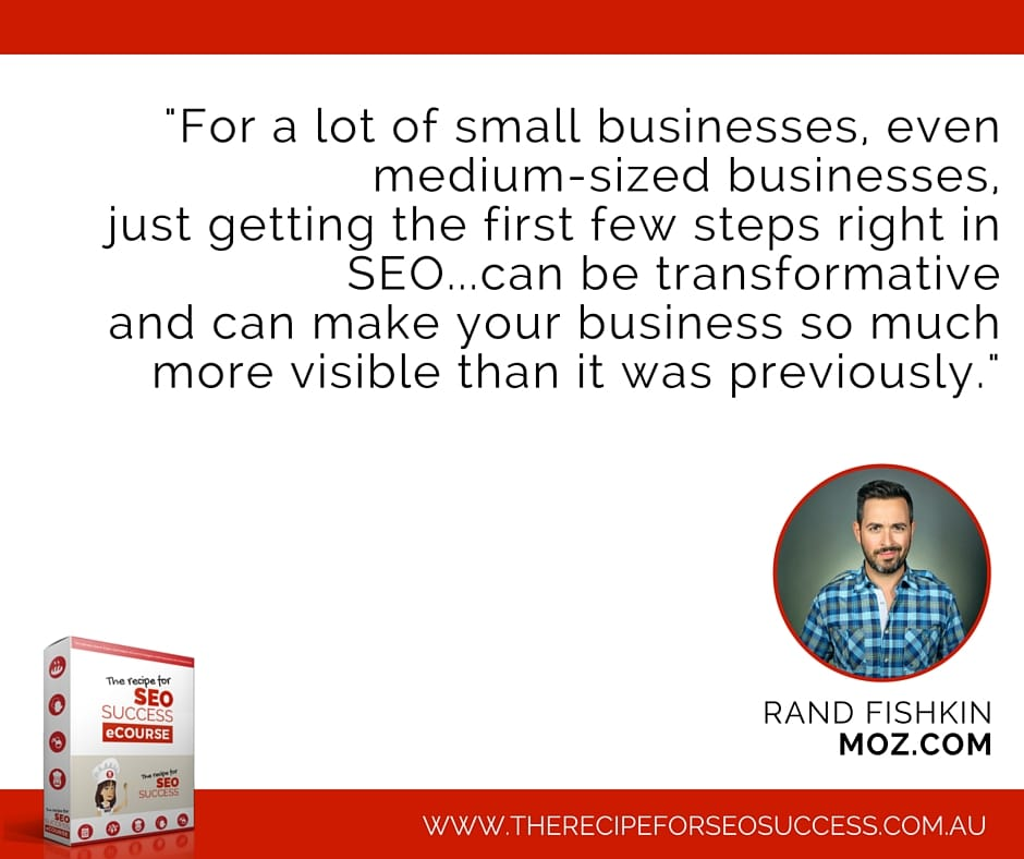 Rand fishkin small business SEO