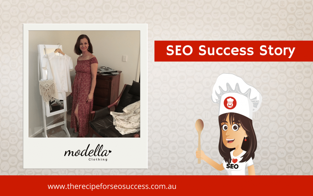 SEO Success Story: Modella Clothing