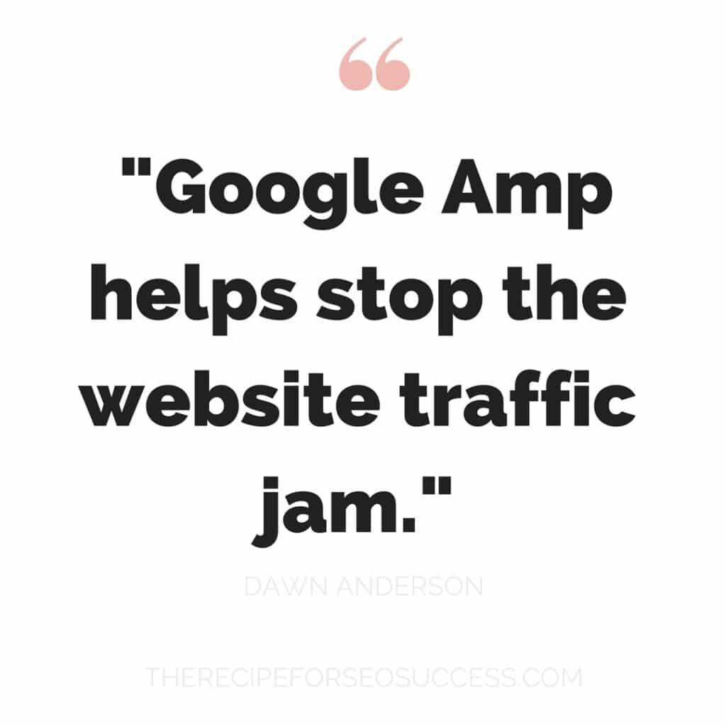 Dawn Anderson Google Amp