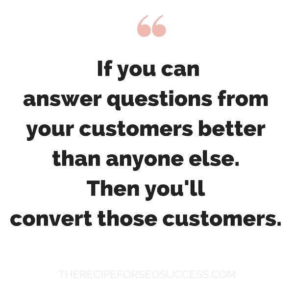 SEO Customers