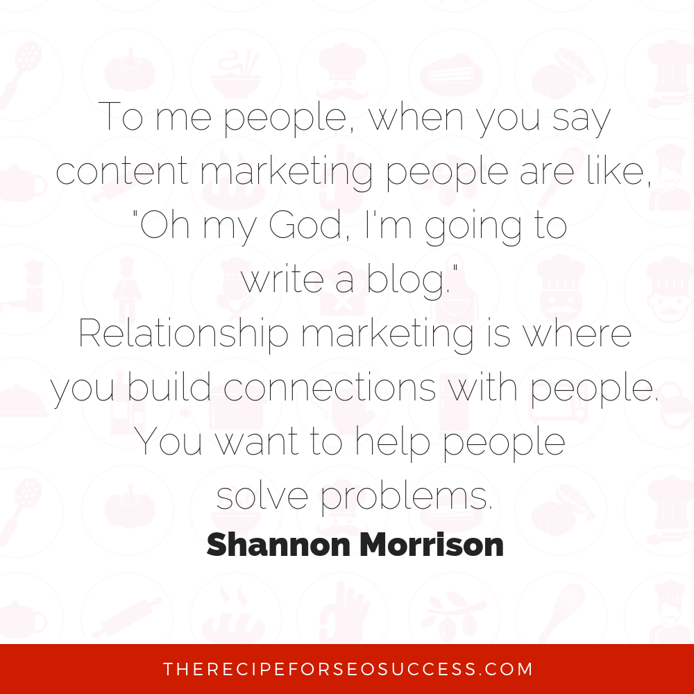 Content Marketing: Basic to Advanced Techniques with Shannon