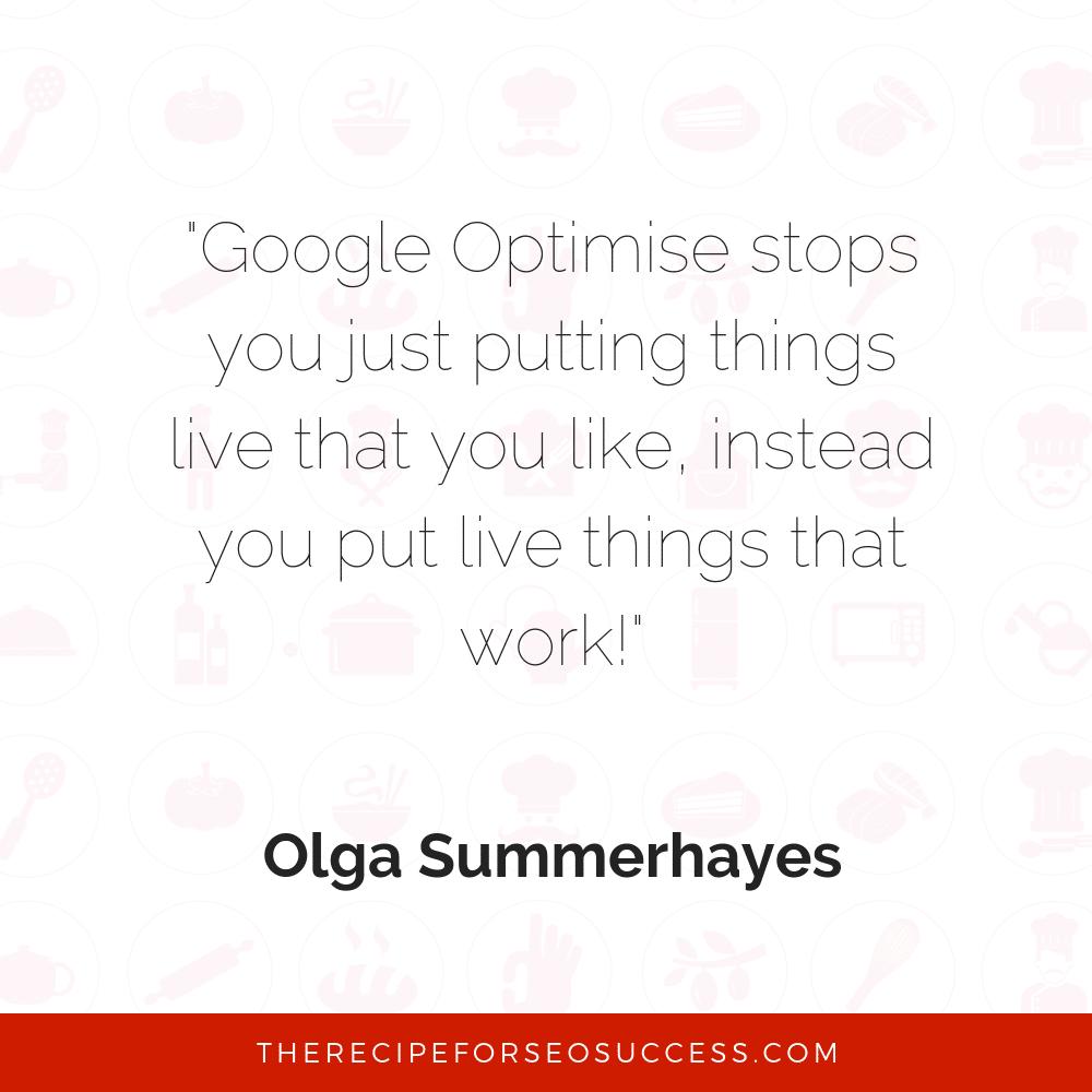 Google Optimise meme