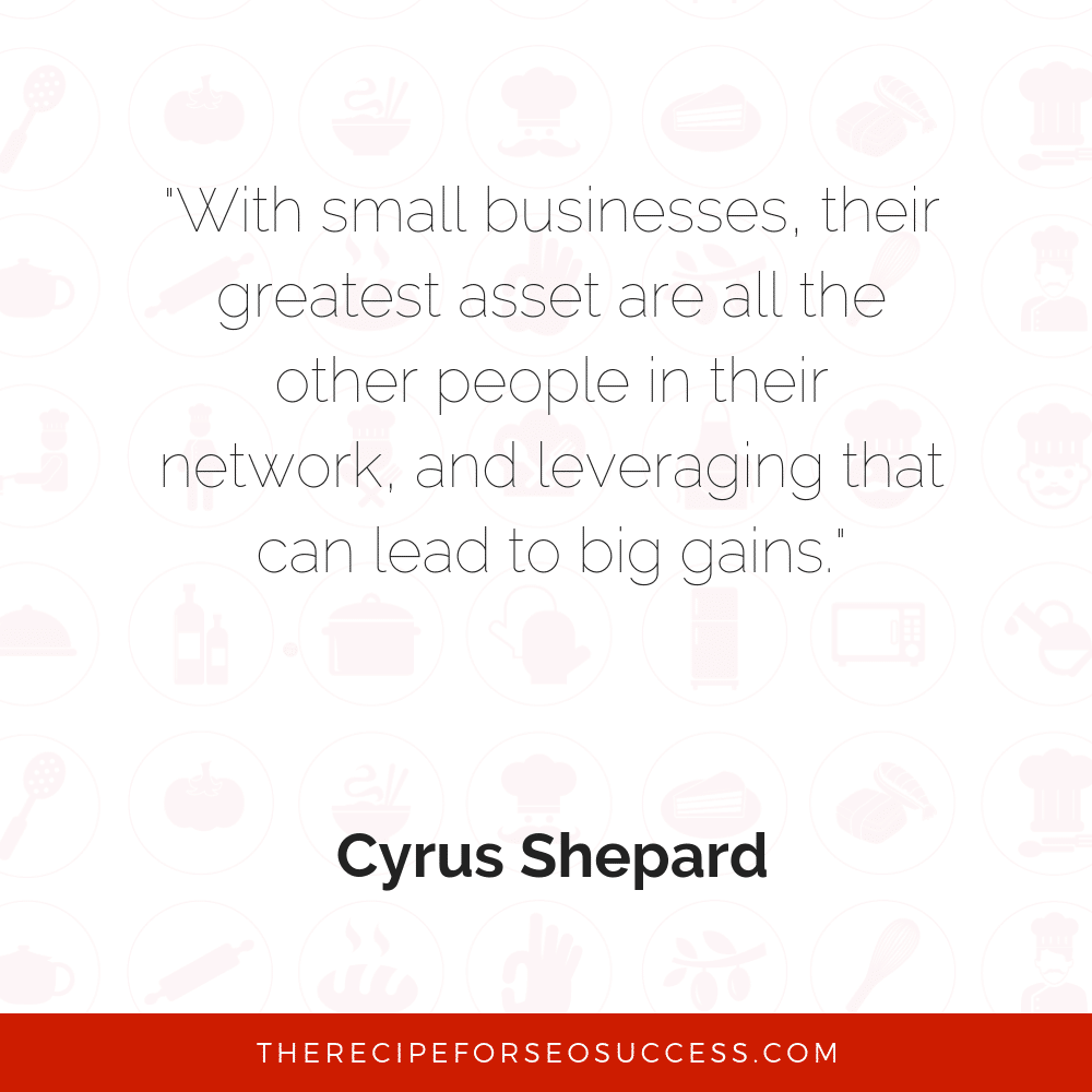 Cyrus Shepard quote
