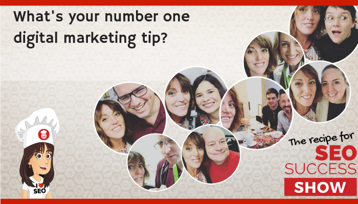 What's your number one digital marketing tip?