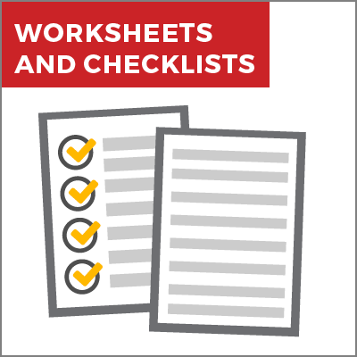 Worksheets & Checklists