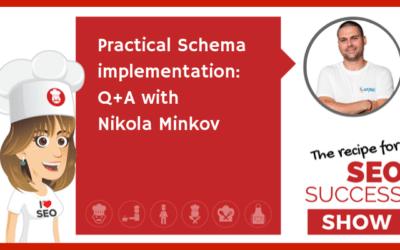 E34: Practical Schema implementation: Q+A with Nikola Minkov (TECHIE)