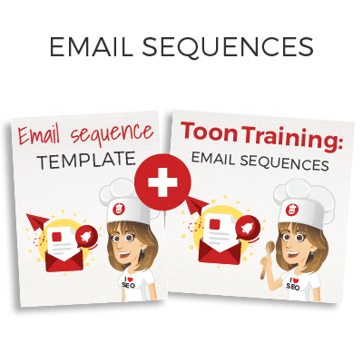 Email sequences training