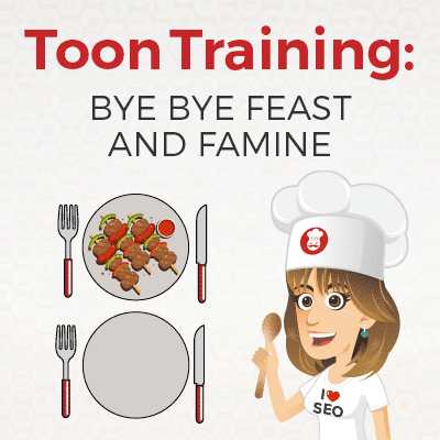 Feast-and-famine-training