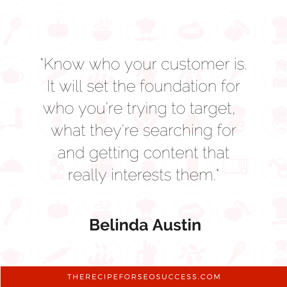 Meme SEO quote from Belinda Austin Austin's wines.