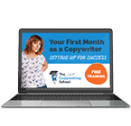 Your First Month As a Copywriter Webinar free